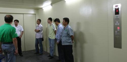 2009年默纳克电梯一体化产品全国巡展暨(成都)技术