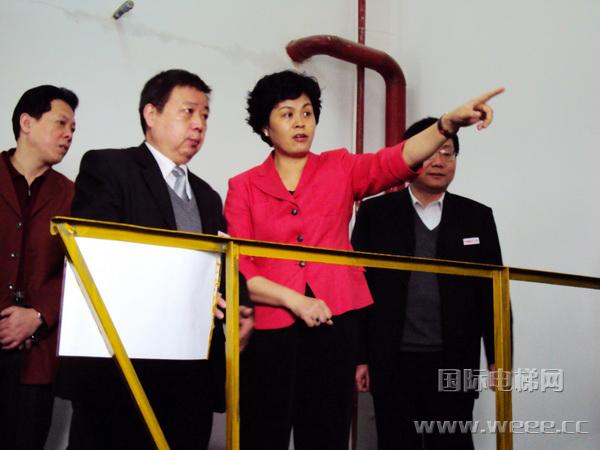 湖南省副省长一行参观台日电梯公司|家用电梯新闻